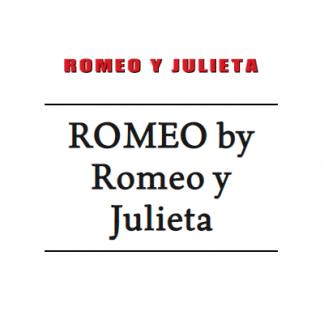Romeo by Romeo y Julieta